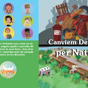 Llibre (digital): Canviem deixalles per Natura